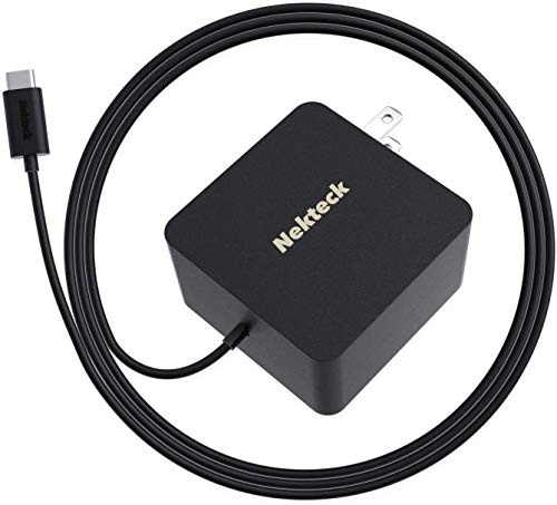 Nekteck 45W USB-C Wall Charger with PPS, Fast Charging Adapter with PD 3.0 [USB-IF Certified] for MacBook Pro, Chromebook, iPad Air/Pro, Google Pixel and Other Most USB C Devices