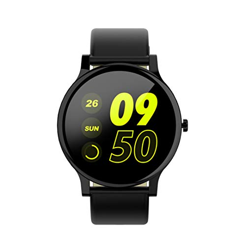 """Mintsin 1.3"""" LCD Display Touch Screen Fitness Tracker Watch with..."""