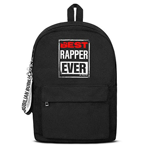 Laptop Backpack Unisex Water Resistant Canvas Rucksack Lil-Wayne-Best-Rapper-Ever- Grocery for Men Women and Kids