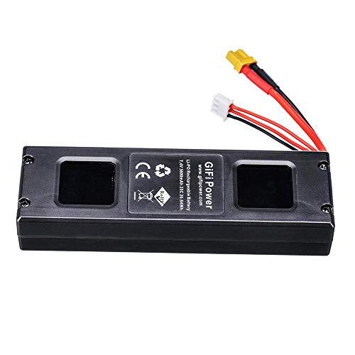 GzxLaY Batteria di Backup ad Alte Prestazioni per MJX Bug 3 7.4V 3600mAh Batteria Lipo per Force1 F100 Contixo F17 RC Drone Spare Parts-A_Black ( Color : 1pcs )