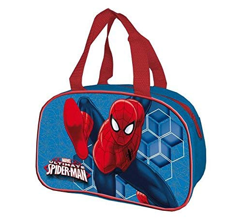 Spiderman 2018 Turnbeutel, 23 cm, Blau