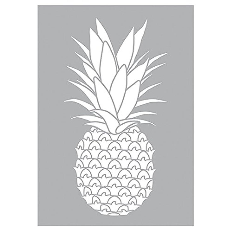 Efco 9320952?Pineapple Stencil Stencil, Plastic, White, 29, 7?x 21?x 0.1?cm