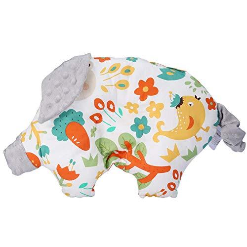 Surebuy Almohada de Apoyo para el sueño de recién Nacidos de Pollo Almohada de bebé con Forma de Dibujos Animados Lindo, Rollo de Rollo de Cabeza Plana, Cabeza Plana,(Fox)