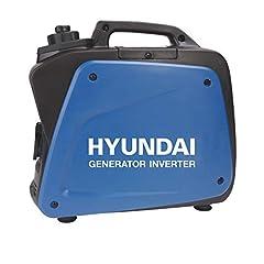 Générateur d'inverseurs HYUNDAI HY55002 D (générateur d'essence portable, générateur d'inverti avec puissance maximale de 1.8 kW et fiche SCHUKO, groupe électrogène de secours, groupe électrogène)