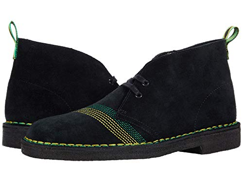 Clarks Desert Jamaica Black/Multi Stitch 9.5 D (M)
