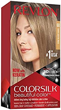 Revlon Colorsilk Permanent Ammonia Free Hair Dye With Keratin