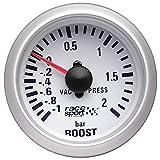 Sumex Gaug701 - Manómetro Presión Turbo'Race Sport', Diámetro 52 mm, 12V