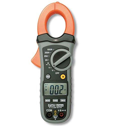 HT4010 Pinza Amperometrica Tester Digitale Led per misure di corrente fino a 600A CAT III HP004010