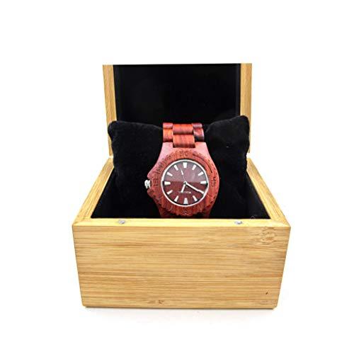 Watch-HLH 2 Sätze Uhrenbox Geschenke Fall Schmuck Halter Armband Armreif Uhr Organizer Präsentieren Aufbewahrungsbox Handgelenk Kissen Box