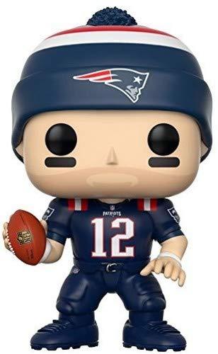 Funko POP NFL: Tom Brady (Patriots Color Rush) Collectible Figure ,3.75 inches
