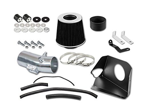 RL Concepts 3' Black Heat Shield Cold Air Intake Kit + Filter For 07-12 Nissan Altima 3.5L V6