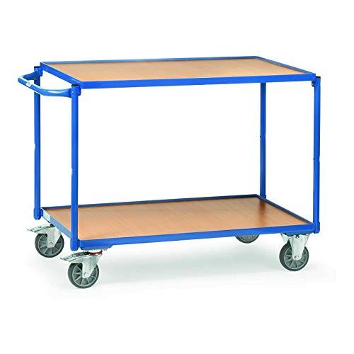 VARIOFIT Tischwagen Transportwagen, Eigengewicht: 37 kg, Ladefläche: 1000x600 mm