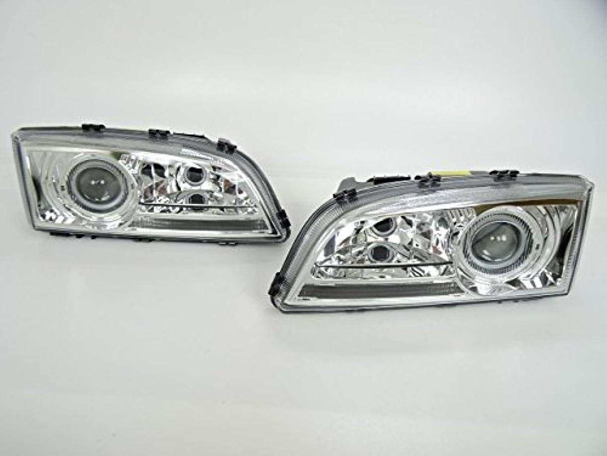 エトナ山誘惑するしゃがむボルボ プロジェクターヘッドライト(メッキ)  S70 V70 (97y?00y)  クリスタル ヘッド ランプ ライト