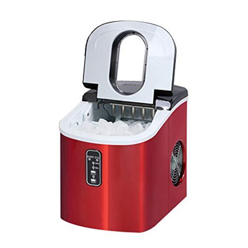 Ice Makers YX Vollautomatischer Studentenwohnheim für Eismaschinen für gewerbliche Haushalte Kleiner Milchteeladen Desktop-Eismaschine Schnelle Eisherstellung 6~13 Minuten
