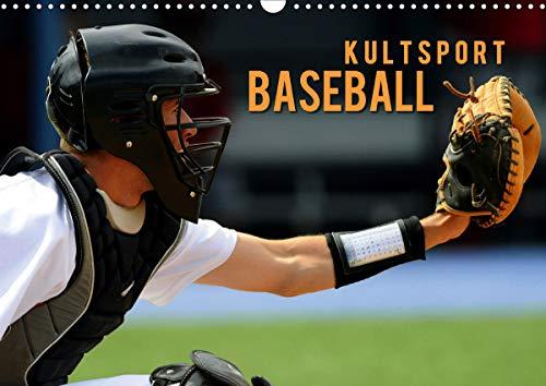 Kultsport Baseball (Wandkalender 2021 DIN A3 quer)