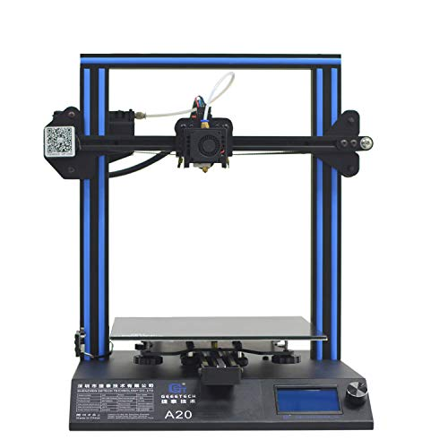 GEEETECH A20 3D Printer with 255×255×255mm Build Volume and Break-resuming Capability, Quick Assembly DIY kit