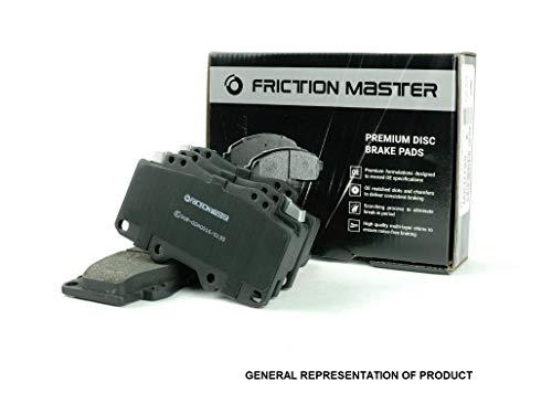 Friction Master MKD784 Front Premium Semi-Metallic Brake Disc Pad Set (4)