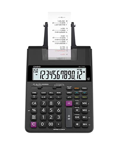 Casio HR-170RC Plus Mini-Desktop Printing Calculator