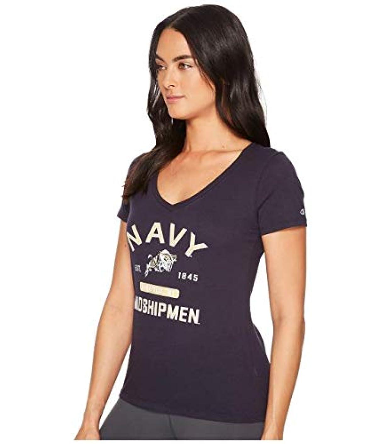 勢い置くためにパック有名人Champion College Navy Midshipmen University V-Neck Tee 服 【並行輸入品】
