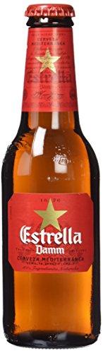 Estrella Damm Cerveza - Paquete de 6 x 250 ml - Total: 1500 ml