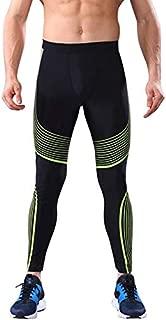 Hot Leggings, Men High Elastic Running Tight Trousers Workout Sport Long Pants