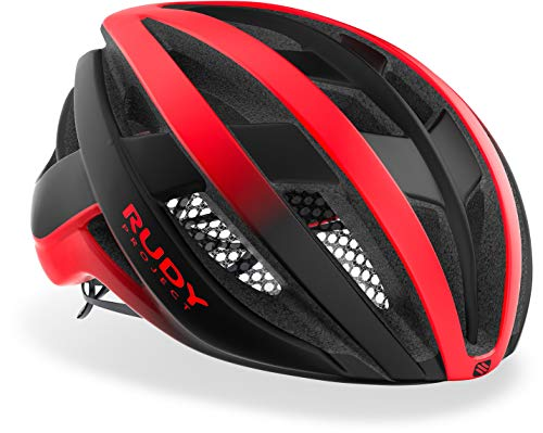 Casco Rudy Project Road Venger (Medium, RED-BLACK MATTE)