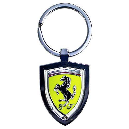 Scuderia Ferrari Llavero Scudetto Spinner