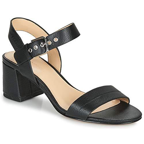 ESPRIT Adina Sandal Sandalen/Sandaletten Damen Schwarz - 40 - Sandalen/Sandaletten