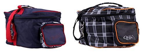 netproshop Reithelmtasche, Helmtasche im Star Design, Farbe:Royal Black