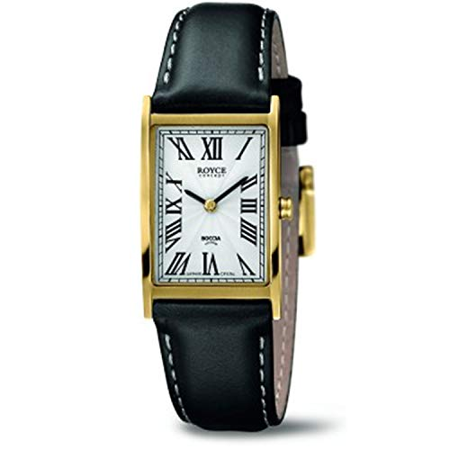 Boccia Damen Analog Quarz Uhr mit Leder Armband 3285-04