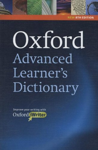 Oxford Advanced Learner's Dictionary (Oxford Advanced Learner's Dictionary, 8th Edition) by A. s. Hornby(2010-04-26)