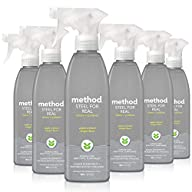 Method Stainless Steel Cleaner, Apple Orchard, 6-pack
