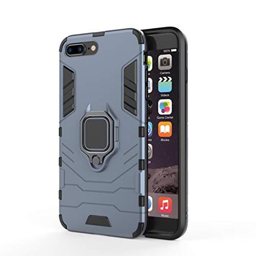 IPhone 8 Plus Hülle iPhone 7 Plus Hülle iPhone 7 Plus / 8 Plus Hülle Autohalterung Unterstützung Smart Hockey Eye Telefonabdeckung Eyephone Case 360 ° Drehständerfunktion Aufprallschutzabdeckung TPU