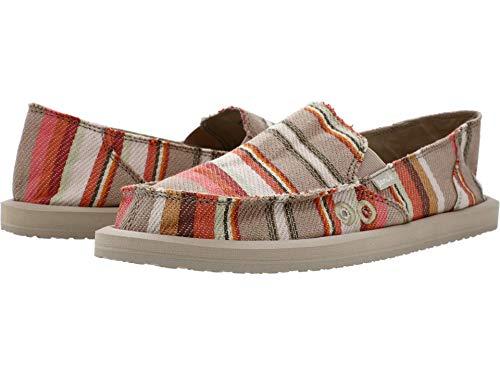 Sanuk Donna Blanket Chaussures Basses pour Femme - Multicolore - Earth Tapis de Selle, 41.5 EU