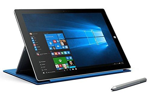 Microsoft Surface Pro 3 Tablet (12', 256 GB, 8GB RAM, intel i5-4300U 1.9GHz, 5MP Camera, Media Card Reader, Windows 10)