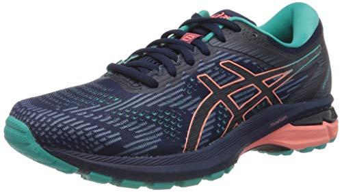 Asics GT-2000 8 Trail, Zapatillas Deportivas para Mujer, Azul (Peacoat/Sea Glass), 38 EU