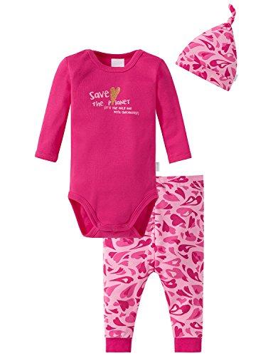 Schiesser Schiesser Baby-Mädchen Unterwäsche-Set, Mehrfarbig (Sortiert 1 901), 68 (Herstellergröße: 068) (3er Pack)