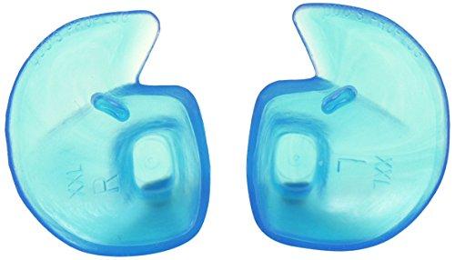 Doc's Proplugs DS05B - Tapones de oído (sin ventosa, sin cinta, tamaño mediano), color azul, talla M