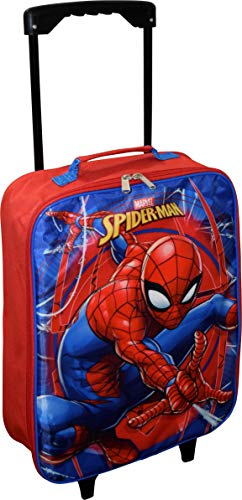 Marvel Spider-Man 15' Collapsible Wheeled Pilot Case - Small Rolling Luggage …