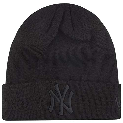 New Era Wintermütze Beanie - Cuff New York Yankees schwarz