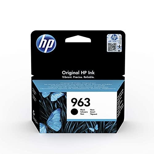 HP 963 3JA26AE, Negro, Cartucho de Tinta Original, compatible con impresoras de inyección de tinta HP OfficeJet Pro Series 9010, 9020