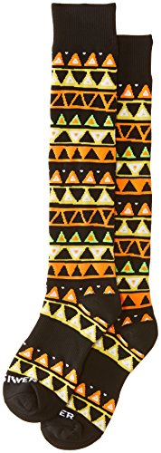 QUIKSILVER Herren Socken Steady Men' Orange Og Scallop Medium/Large