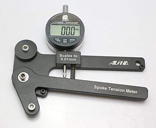 ACRZ Bicicleta/Mecánica de Bicicleta/Electrónica Medidor de Tensión de Radios (Herramienta del Fabricante de Ruedas)