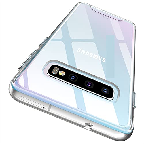 Rayboen Case for Samsung Galaxy S10 Plus, Crystal Clear Designed...