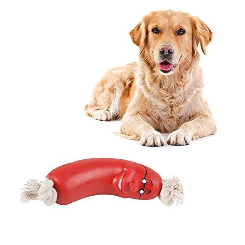 NMML 5 Stück Haustier Hundespielzeug Wurst Quietschendes Spielzeug für Haustiere Gesundes Latex Hund Interaktives Spielzeug für Hund Großhandel Haustier Spielzeug Großhandel Haustierbedarf