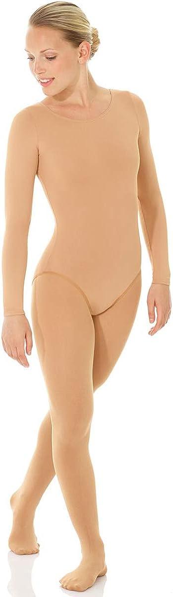 Mondor 11821 Nude Long Sleeve Body Liner