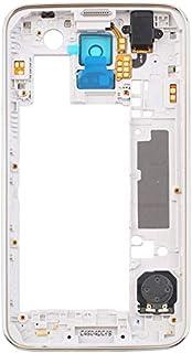 da848ac103e 8Eninine para Samsung Galaxy S5 I9600 G900H Lente para cámara con Marco  Trasero, Bisel intermedio