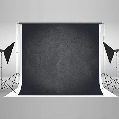 KateHome PHOTOSTUDIOS 3x2m Negro Fondo fotografia Retratofondo photocall Retro Fondos fotografia Estudio