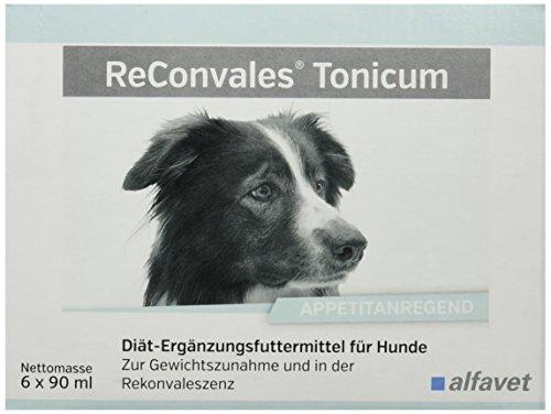 ReConvales®Tonicum Hund Einheit: 6 x 90 ml Diät-Ergänzungsfuttermittel für Hunde Zur ernährungsphysiologischen Wiederherstellung und in der Rekonvaleszenz