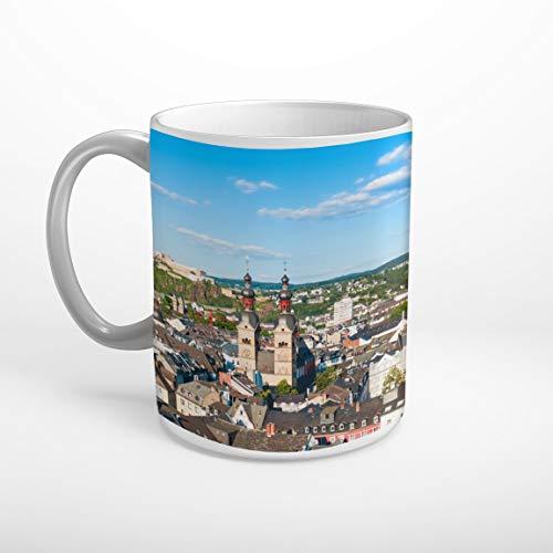 Stufffactory Koblenz Skyline Tasse Spruch Motiv Fototasse Kaffeebecher T1340